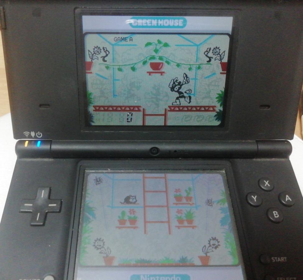 グリーンハウスのゲーム画面