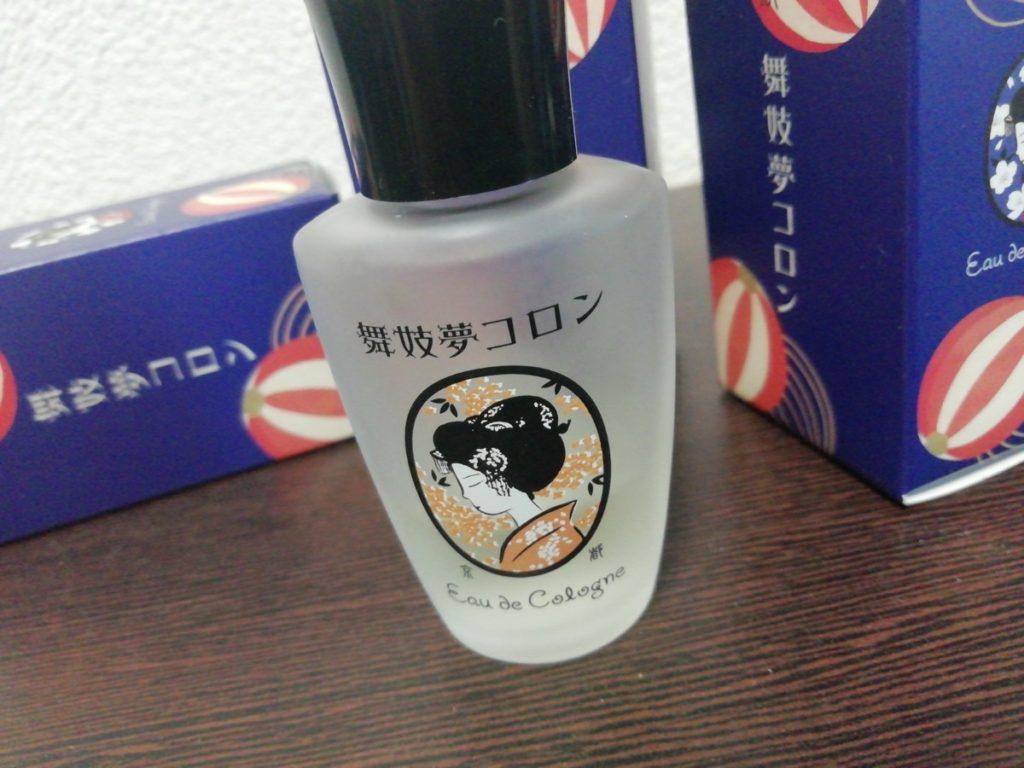 舞妓夢コロンの香水瓶の画像